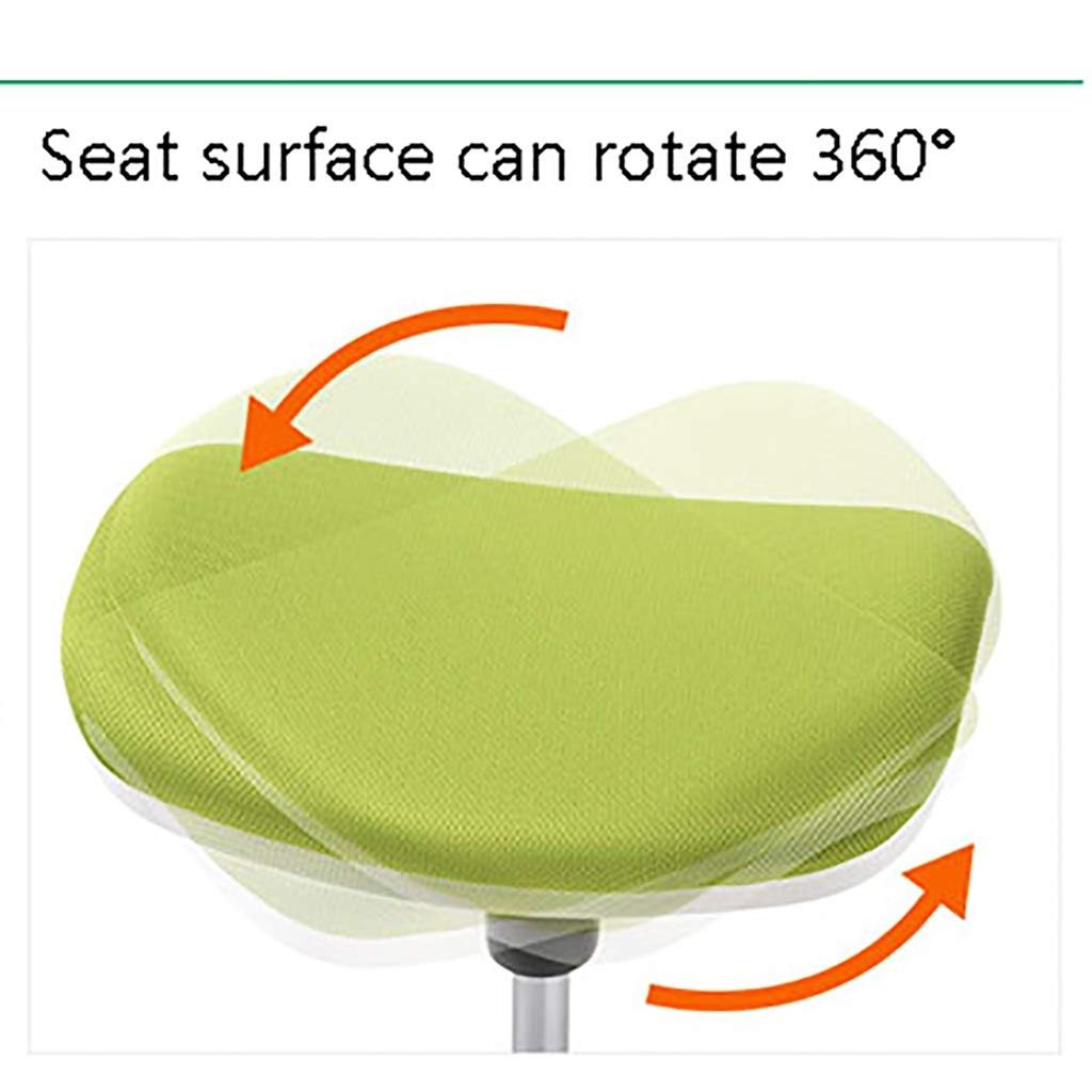 ASBKP Kontorslyft svängbar stol, kontorsstol med liten lunchpaus, enkel och modern fotstöd, kreativ fritidsfotstöd, avslappnad modepall, mångsidig (färg: A) b