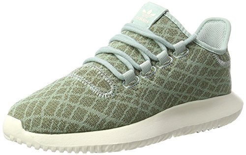 chalk Femme Adidas tactile Green Vert Basses Sneakers White tactile Shadow Green Tubular qn7TwO7Sv