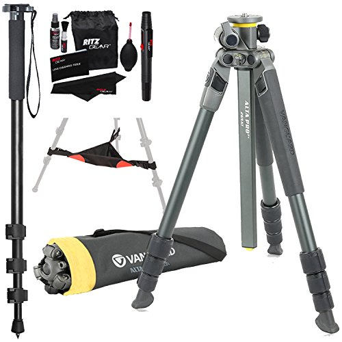 Vanguard Alta Pro 2+ 264AT 4-Section Aluminum Tripod with