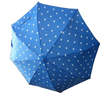 Pepe Jeans paraguas estrellas azul