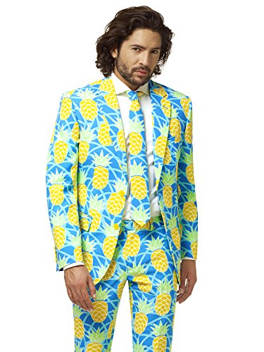 Opposuits Mens Shineapple Summer Suit 38 by Opposuits