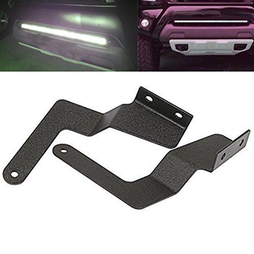 DaSen For 2007-2018 Toyota Tundra Pickup Lower Bumper Grille Hidden Insert LED Light Bar Mounting Brackets