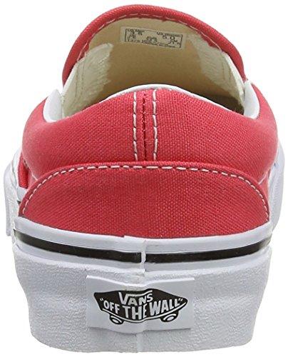 VansU CLASSIC SLIP-ON - Zapatillas Unisex adulto rojo - Rot (cayenne/true white)