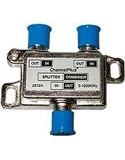 Channel Plus 2512 DC + IR Passing 2-Way Splitter/Combiner