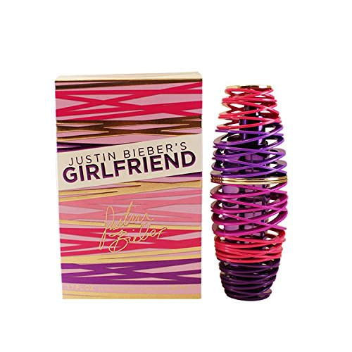 Justin Bieber Girlfriend Eau De Parfum Spray for Women, 50ml/1.7 oz.