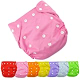 Baby Nappy AutumnFall® 1pc Best Seller Cloth Nappy Reusable Washable Baby Cloth Nappies Diapers (Pink)