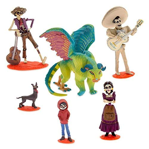 - Coco Figurine Play Set  Birthday Cake Toppers