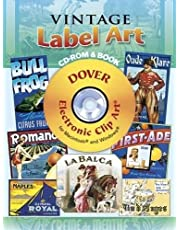 Vintage Label Art CD-ROM and Book