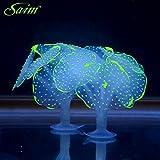 Saim® Glowing Artificial Coral Ornament for Aquarium Fish Tank