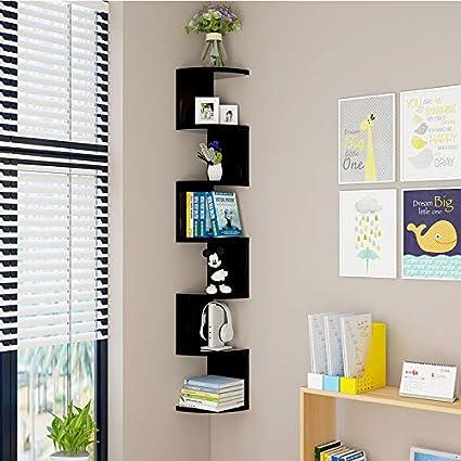 Libreria A Muro Sospesa.Hanging Scaffale Mensole Da Muro Soggiorno Legno Libreria Parete