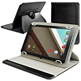 KuVest 10'' Universal Folio PU Leather Case Cover for 10.1'' Tablet NeuTab N10 Plus, NeuTab N10 and more 10.1'' Tablet Computers