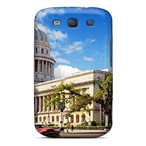 For Galaxy S3 Protector Case Havana Cuba Phone Cover