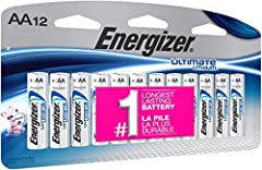 Nothing outlasts the long-lasting power of Energizer Ultimate Lithium Batteries. Each battery's safety-conscious, leak-proof design gives you confidence that your most-loved devices are protected against leaks and corrosion. These batteries c...