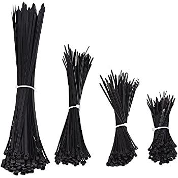 Amazon Com Eboot 400 Pieces Cable Zip Ties For Home