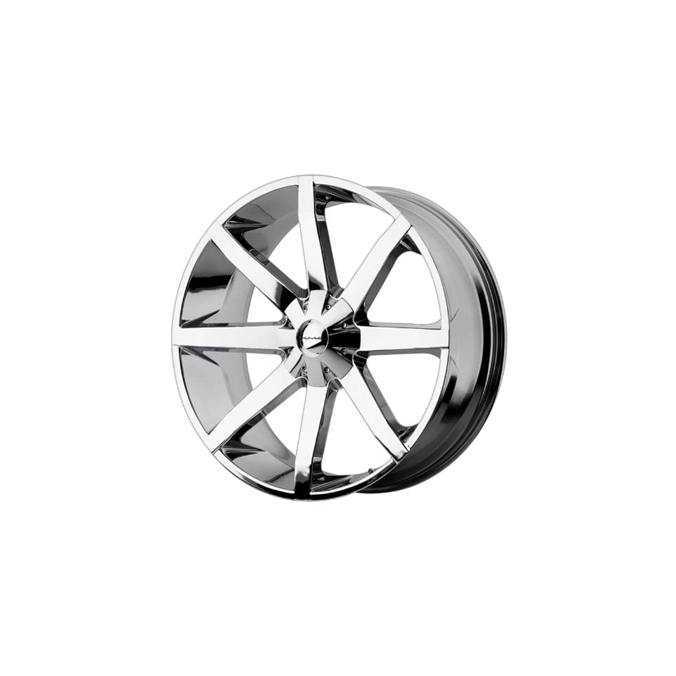 26x10 KMC Slide (Chrome) Wheels/Rims 6x135/139.7 (KM65126067228)