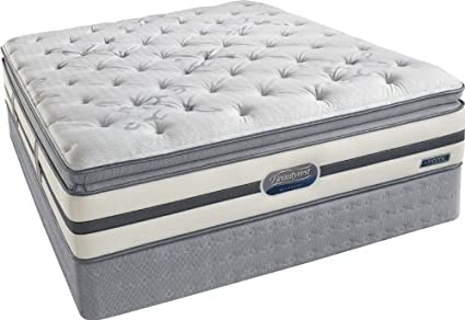 Amazon Com Simmons Beautyrest Queen Classic Plush Firm Eurotop
