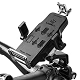 LIVALL H2 Premium Bike Phone Mount for Bicycle Handlebars with 360 Rotate phone Holder, Fits 4-6in iOS Android Smartphone (Black)