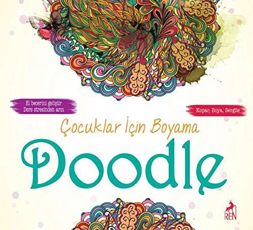 Cocuklar Icin Boyama Doodle Collective 9786059840422 Amazon