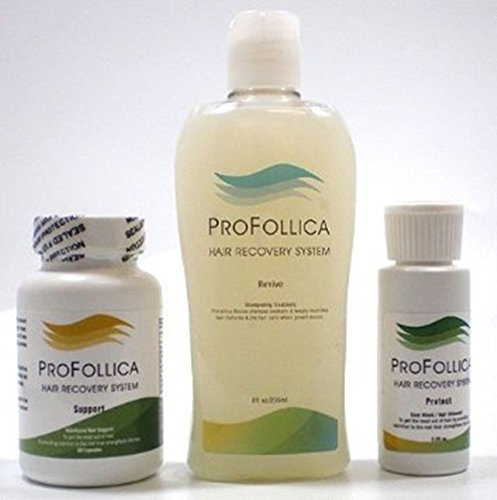 Profollica w/ Shampoo - Hair Regrowth System - Stop Hair Loss Kit by Profollica (Image #1)