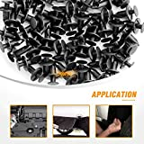 GOOACC Nylon Bumper Fastener Rivet Clips for GM