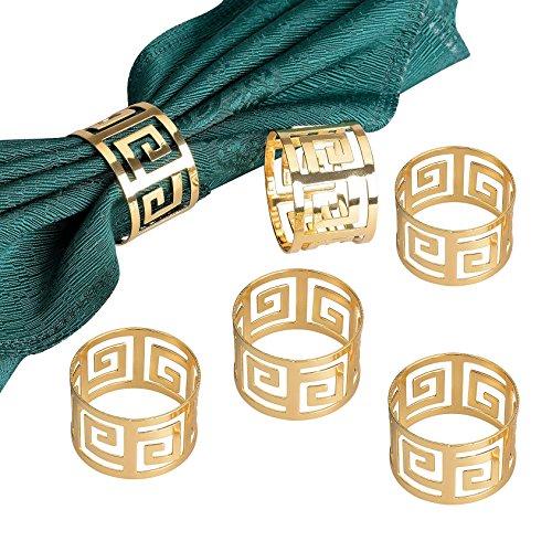 Gold Napkin Ring - 9