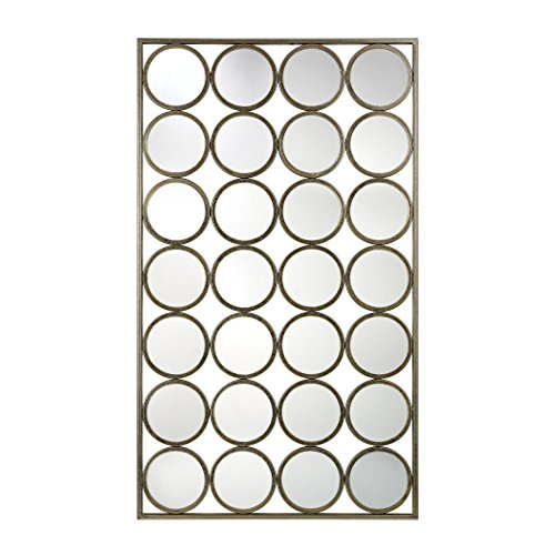 Hamptons Collection Retro Style Multi-Circle Wall Mirror by Ben&Jonah