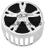 Xtreme Machine Fierce Horn Cover - Chrome 0218-2002XFR-CH