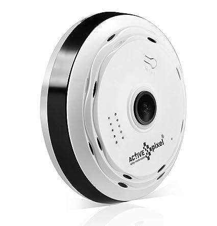 Active Pixel Wireless Panoramic Bulb 360 Ip Camera 1 3mp