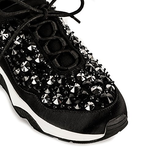 Mujer Zapatillas Muse Metallic black Zapatos Ash qYZOgg