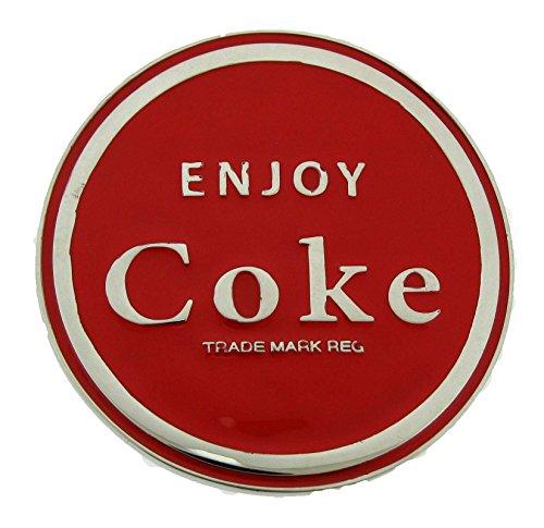 Coke Coca Cola Belt Buckle Mens Unisex Metal Fashion New Original (Buckle Coca Cola Belt)