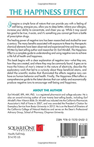 The Happiness Effect: The Positive Benefits of Negative Ions - http://medicalbooks.filipinodoctors.org