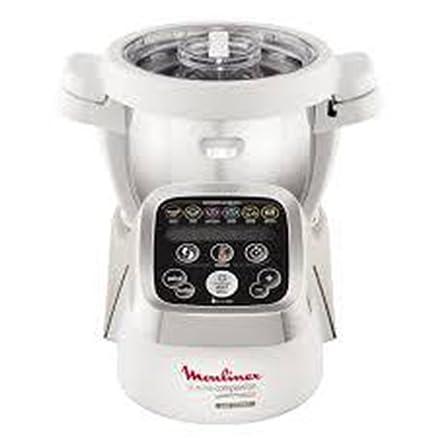 Moulinex Cuisine Companion Robot da cucina, 6 programmi automatici ...
