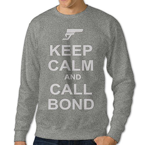 Price comparison product image Mens 007 Spectre James Bond Crew Neck Hoodies