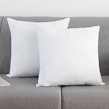 Amazon.com: ROSMARUS - Juego de 2 almohadas de plumón y ...