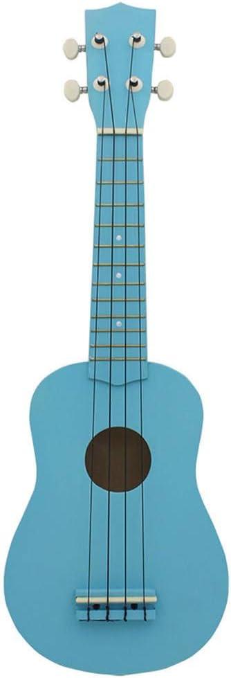 Yingm Guitarra Acustica 21 Pulgadas de Secuencia 4 B Wood Multicolor Ukulele Instrumento for Principiantes 5 Colores a Elegir de la Guitarra acústica Bolsa Guitarra Acústica Infantil