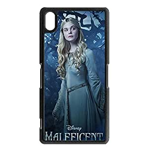 Maleficent Princess Aurora Fashion Design Phone Shell,Popular Beauty Maleficent Disney Movies Series High Quality Phone Case for Sony Xperia Z2