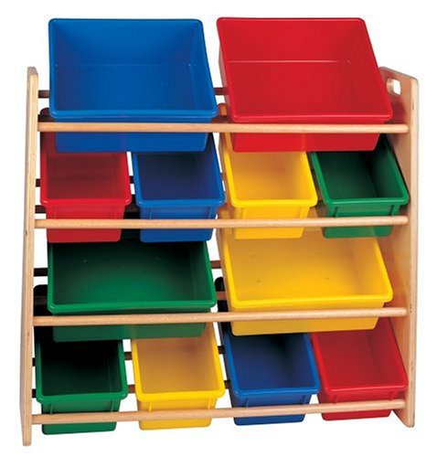 Amazon.com: Battat 4 Tier Storage Bin   Colors May Vary From Image
