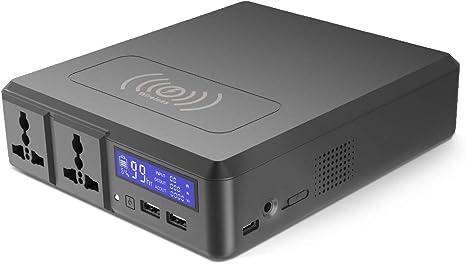 Beirich 154W 41600Mah Laptop Power Bank 220V Fuente De Alimentación De Almacenamiento De Energía Portable Power Bank Energía De Emergencia Al Aire Libre: Amazon.es: Deportes y aire libre