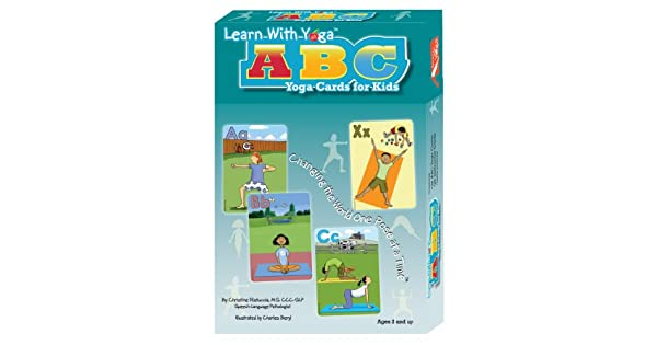 Amazon.com: Learn With Yoga ABC Yoga Cards for Kids (Yoga ...