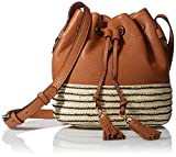 Image of Rebecca Minkoff Mini Mansfield Bucket Shoulder Bag, Almond, One Size