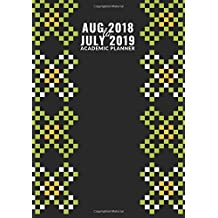 "Aug 2018 to July 2019 Academic Planner: Weekly & Monthly Schedule Diary, At A Glance Calendar Schedule Organizer with Inspirational Quotes, Hourly Daily Appointment Notebook, Great Gift for School, College, Office, Home, Men, Women, Boys, Girls Medium Size 7""x10"", Paperback"