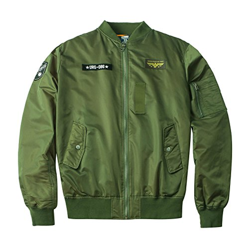 Mens Urban Outerwear Nylon Jacket - 1