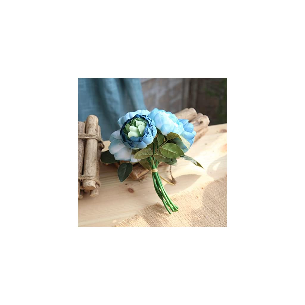 1-Bouquet-6-Heads-Artificial-Peony-Silk-FlowerTuscom-Home-Wedding-Party-Decor