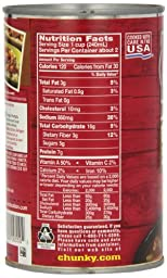 Campbell\'s Chunky Beef Soup, Ez Open, 19 oz