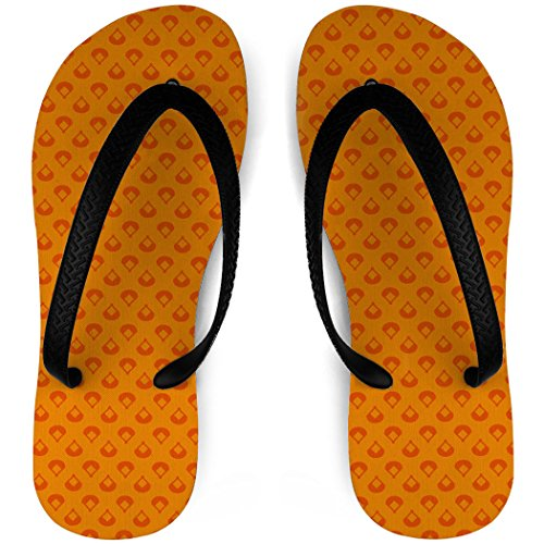 Baseball Flip Flops Diamonds Are Forever Orange jknqFw