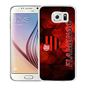 Fashionable Custom Designed Skin Case For Samsung Galaxy S6 With Flamengo White Phone Case 1