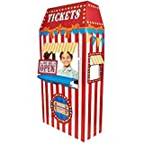 Carnival Games Party Supplies - Ticket Booth Cardboard Stand by BirthdayExpress