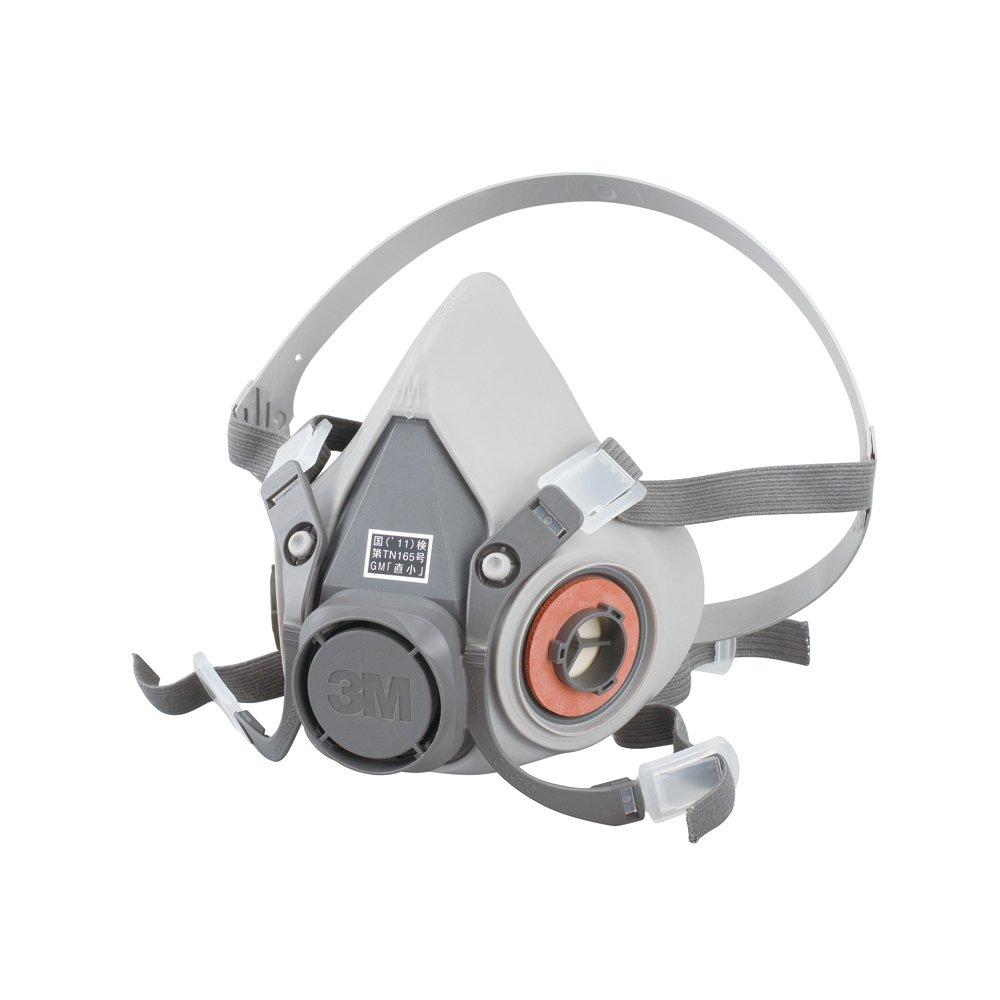 <br /> 3M 防毒マスク 半面形面体 6000 ラージ 国家検定合格品