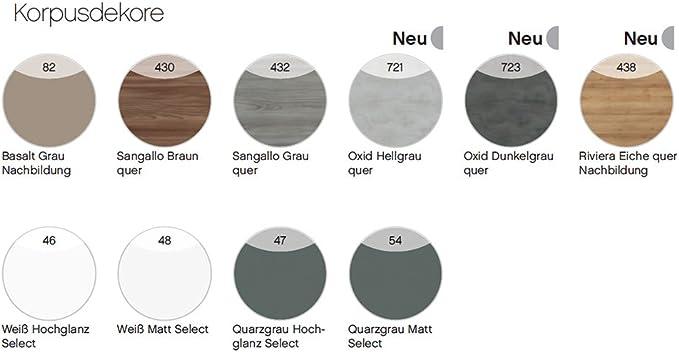 Pelipal Solitaire 6010 Juego de 3 Piezas de Muebles de baño/Lavabo/Armario Armario con Espejo/Incluye LED/: Amazon.es: Hogar