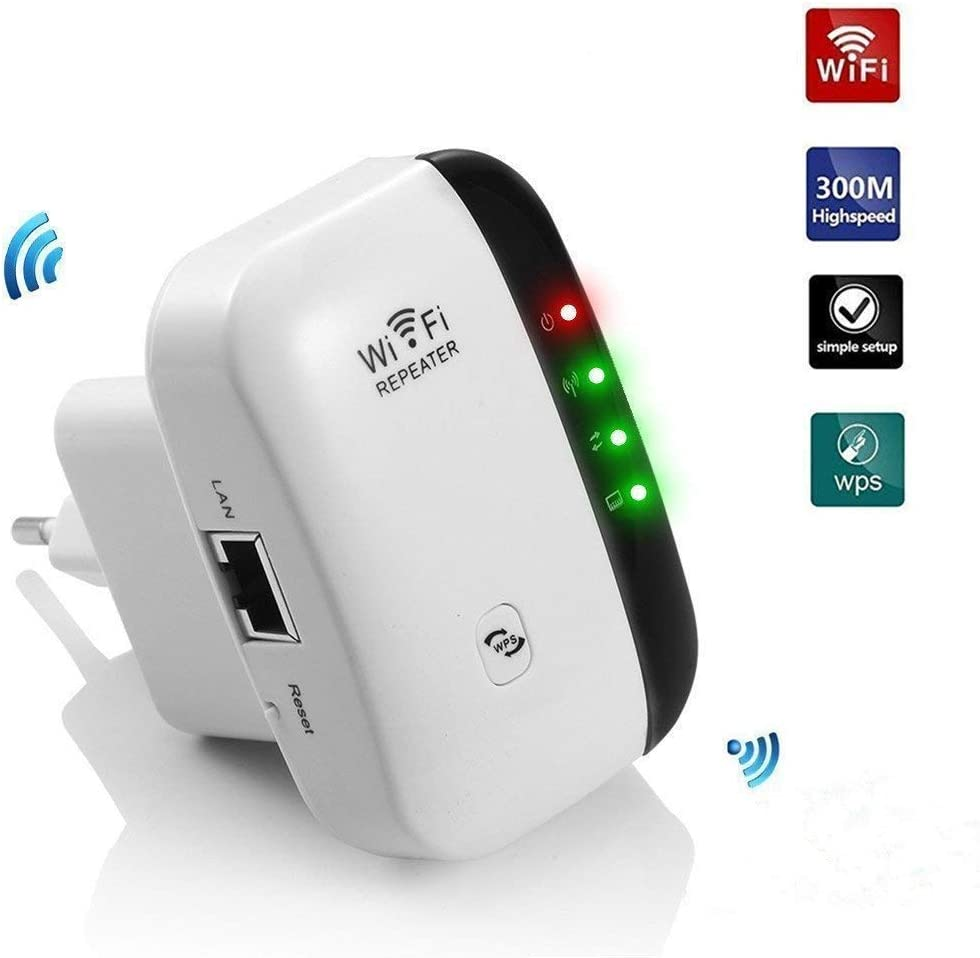 Teabelle Repetidor de WiFi Extensor de Red WiFi Repeater Mini ...